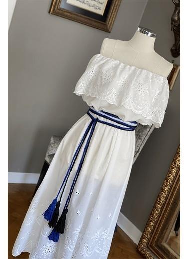 Siren Ertan Elbise Beyaz